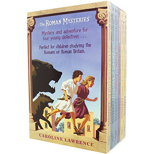 The Roman Mysteries Collection Caroline Lawrence 6 Books Box Set