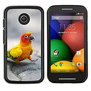 LECELL--Funda protectora / Cubierta / Piel For Motorola Moto E -- Feliz loro --