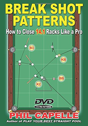 Break Shot Patterns: How to Close 14.1 Racks Like a Pro Book and DVD
