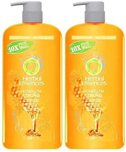 Honey Strengthening (Herbal Essences Honey, I'm Strong Strengthening Hair Conditioner - 33.8 oz - 2)