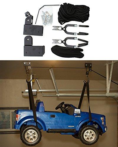 [해외]ABN 천장 마운트 자전거 및 카약 호이스트 리프트 - 차고 저장, 100 파운드 용량/ABN Ceiling Mount Bike and Kayak Hoist Lift - Garage Storage, 100 pound