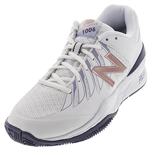 Nuovo Equilibrio Wc1006 Sneakers In Pelle Larghi Bianco