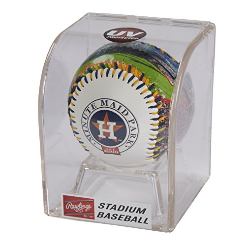 Rawlings MLB Houston Astros 05860002111MLB Stadium Baseball (All Team Options), Red, One Size