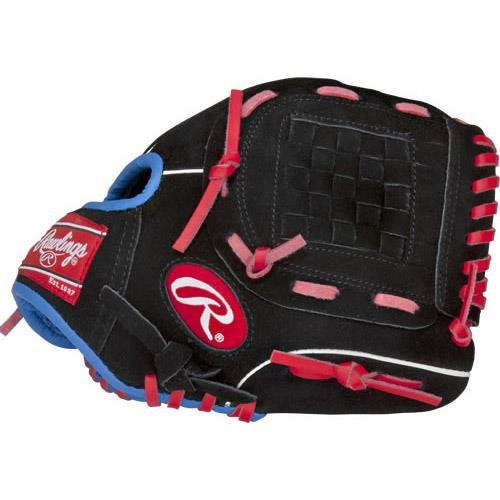 Rawlings Junior Pro Lite Series Baseball Glove, Regular, Basket-Web, 9-1/2 (Basket Web Baseball Glove)