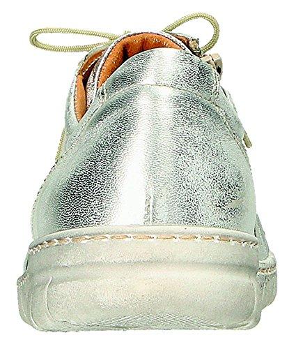 Pour Argenté Femme Chaussures Lacets Silber de Miccos à Silber Ville nHqffXpa