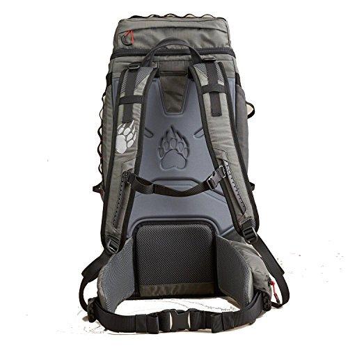 Alaskan Hardgear Silverthorne Trekking Backpack Gunmetal by Alaskan Hardgear