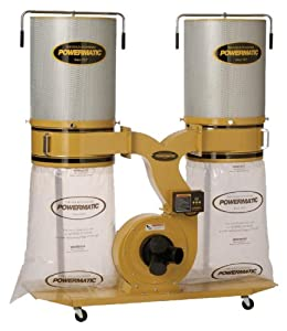 10. Powermatic PM1900TX-CK1 Dust Collector 3HP 1PH 230-Volt 2-Micron Canister Kit