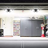 LED Garage Lights, 60W Garage Lighting, E26/E27