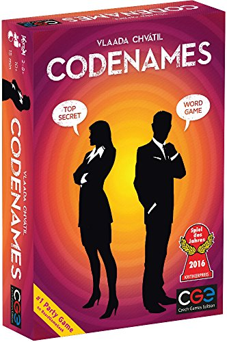 Czech Games Codenames (Games For Adults To Play At Home)