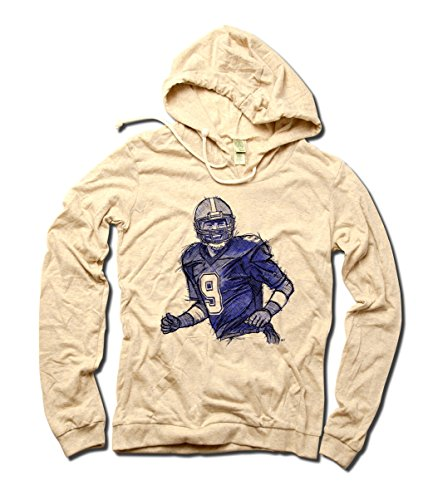 500 Level Women's Tony Romo Officially Licensed NFLPA Dallas Cowboys Hoodie S White