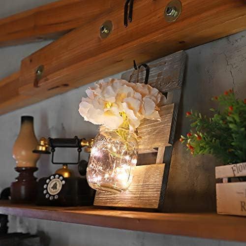 home, kitchen, home décor, home décor accents, decorative accessories,  decorative jars 8 image HOMKO Mason Jar Wall Decor with 6-Hour promotion