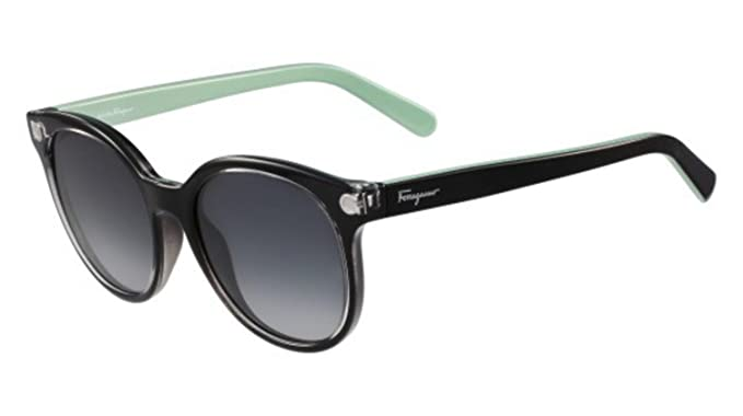 252bbb6e4a Image Unavailable. Image not available for. Color  Sunglasses FERRAGAMO SF  833 S 001 CRYSTAL BLACK