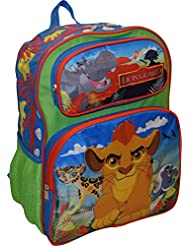 Disney The Lion Guard Deluxe 3D Embossed 16 School Backpack