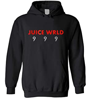 LIZASR Juice Wrld 9 9 9 T Shirt for Mens Womens Hoodie T-Shirt