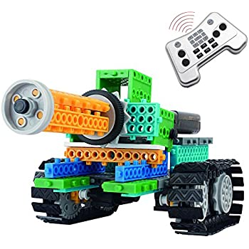 Amazon 4 in 1 robotic kit remote control building blocks 4 in 1 robotic kit remote control building blocks amglobal 237 pcs remote control solutioingenieria Images