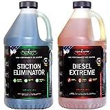 Hot Shot's Secret Diesel Duo, 2qt STICTION Eliminator and 2qt Diesel Extreme