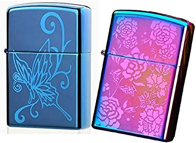 2 Pack USB Lighters - Double zipper Electronic Lighter with dual arc Electric Plasma Lighter - Tesla Coil Rechargeable Cigarette - Perfect Gift