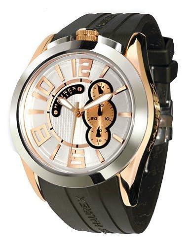 abc69e58de34 Haurex Italy Blaze Silver Dial Watch  3D333USH - Reloj de caballero de  cuarzo