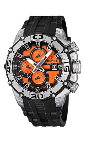 NEW Festina Chronograph Bike TOUR DE FRANCE 2012 Men's Watch F16600/6