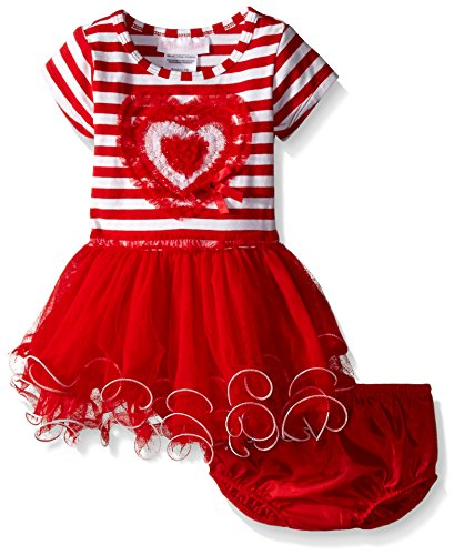 knit a dress for baby - 7