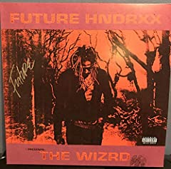 "Future signed The Wizrd 12"" lp album in good condition. Signed as part of album promotion on his website. Bend along spine of album. LOA provided."