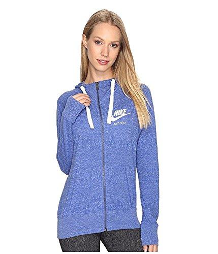 Nike Women's Gym Vintage Full Zip Hoodie (Small)