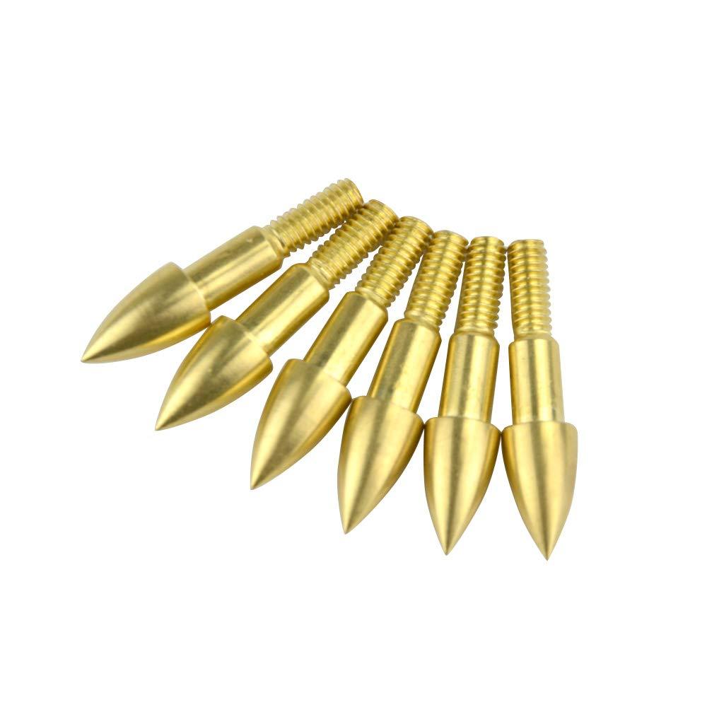 MILAEM 50 Piezas Puntas de Caza 75 Grain Broadheads Punta de Flecha Consejos de Flecha de Caza para Arco recurvo y Compuesto