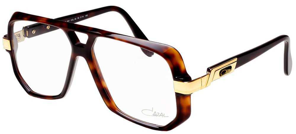 Cazal Eyeglasses Legends 627 80 Havana Brown/Gold Optical Frame 59mm