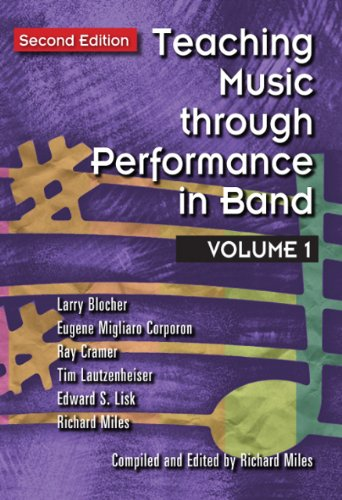 Teaching Music (Teaching Music through Performance in Band, Vol. 1 (Second Edition) /G4484)
