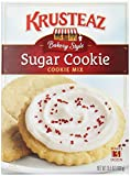 Krusteaz Bakery Style Sugar Cookie Mix, 15.5-Ounce Boxes ( Pack of 12)
