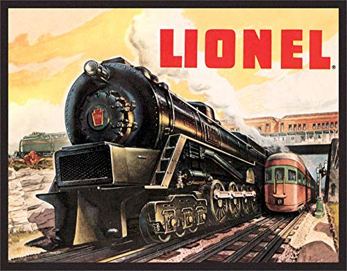 Desperate Enterprises Lionel Trains 5200 Tin Sign, 16