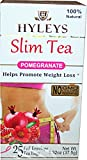 Hyley's Pomegranate Slim Tea 25 Foil Envelopes PACK OF 3
