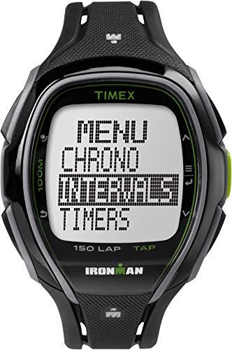 e0341f6c3288 Timex Unisex Adult Sport Ironman Sleek 150 Unisex Black