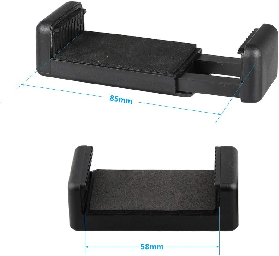 CAMVATE Smartphone Clip Holder with 1//4-20 Mounting Points 2 Pieces