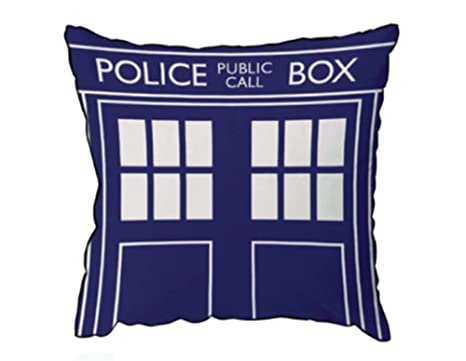 Amazon.com: Doctor Who Throw almohada – Cojín cuadrado, Dr ...