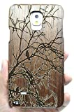note 4 case wood - Samsung Galaxy Note 4 Wood Case, PhantomSky Premium Quality Handmade Natural Wood Cover for Your Galaxy Note 4 - Walnut Tree