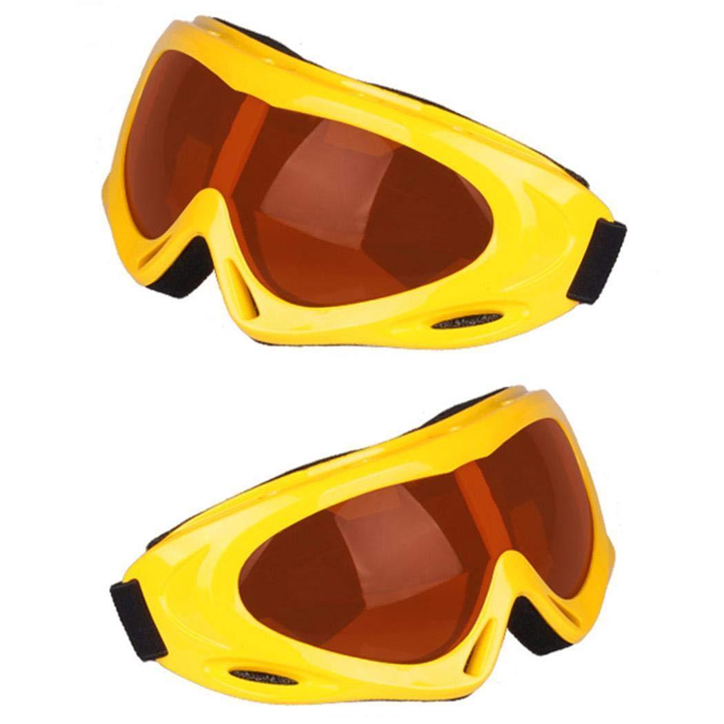 Pudrew Gafas de esqu/í a Prueba de Viento Gafas de esqu/í para Adultos Gafas antivaho para Deportes al Aire Libre Gafas