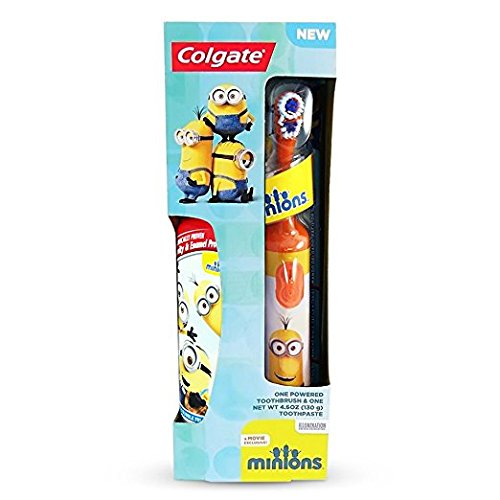 Colgate Minions Powered Toothbrush And Toothpaste Colors My Vary