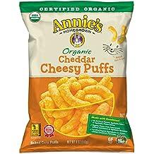 Annie's Organic Cheddar Cheesy Baked Corn Puffs, 12 oz
