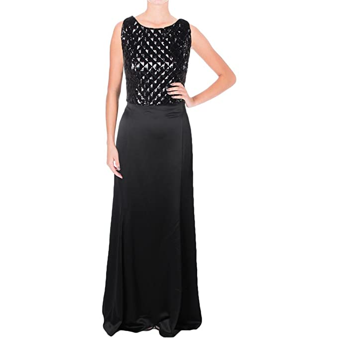 e58e70b6c4a Lauren Ralph Lauren Womens Binetta Sequined Evening Crop Top Dress   Amazon.ca  Clothing   Accessories