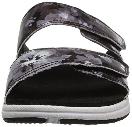 Slide Sandal Women's Ryka Marilyn White Black qUE0HEwx