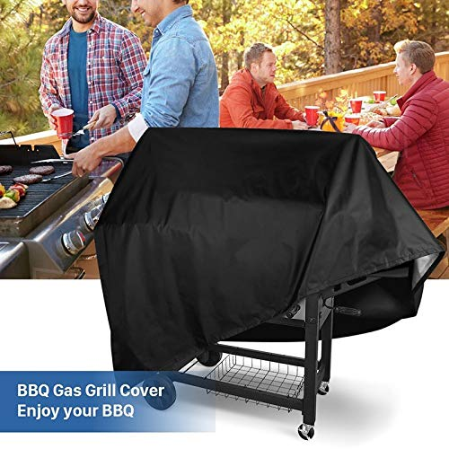 Amazon.com: Aggenix Store BBQ Grill Cover Grill Barbeque Cover Outdoor Rain Grill Barbacoa Anti Dust Protector for Gas Charcoal Electric Barbe ...