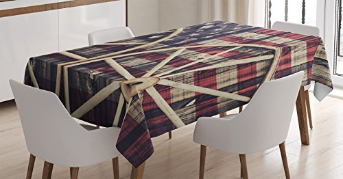 western-decor-tablecloth-by-ambesonne-big-antique-cart-carriage-wheels-with-american-flag-in-retro-v