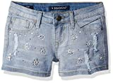 Vigoss Big Girls' Sparkle Short, Capri Breeze, 10