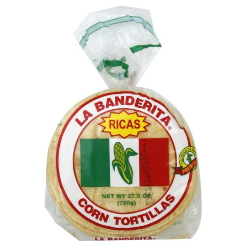 (La Banderita Yellow Corn Tortilla, 1-ounces (Pack of12))