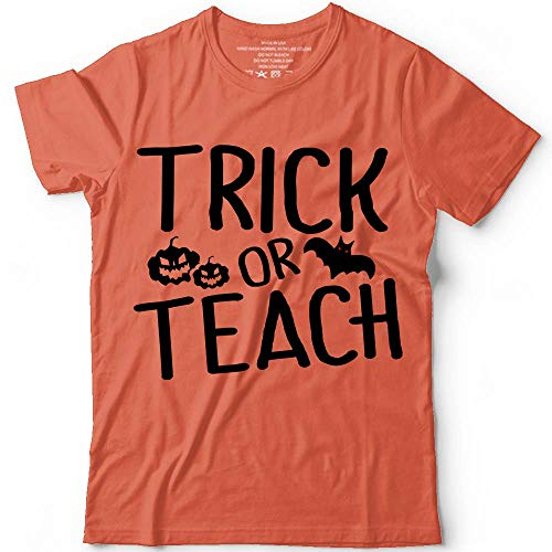 Trick Or Teach Halloween Costume Teacher Students Customized Handmade T-Shirt Hoodie/Long Sleeve/Tank Top/Sweatshirt -
