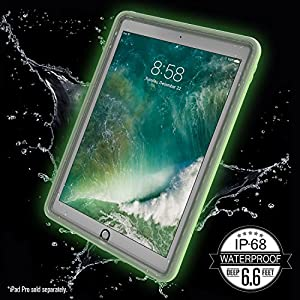 """Catalyst Premium Quality Waterproof Shockproof Case for Apple 12.9"""" iPad Pro (2015) - Glow in the Dark with High Touch Sensitivity ID and Multi Position Stand"""