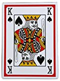Super Big Giant Jumbo Playing Cards - Full Deck Huge Standard Print Novelty Poker Index Playing Cards 8 x 11 inches