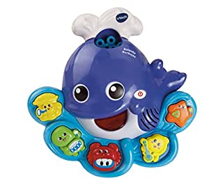 VTech - Ballenita burbujas, juguete de baño para hacer burbujas de jabón (3480-146022)