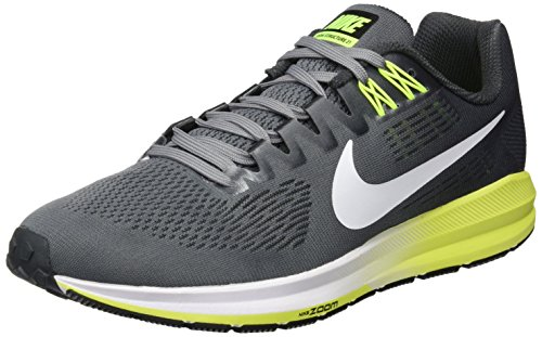 Nike Cool Anthracite Multicolore Air 21 Multicolore Zoom Grey Cool White Volt Pure Running Chaussures 007 005 Structure Homme Grey Anthracite de Platinum rafxwrS